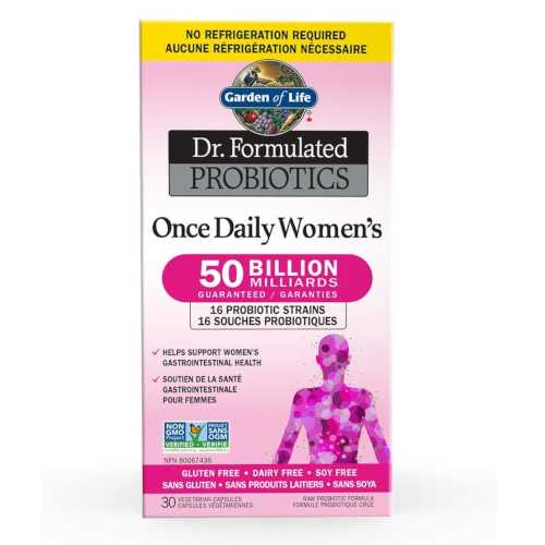 Dr. Formulated Probiotics Once Daily Women's 30 Vcaps