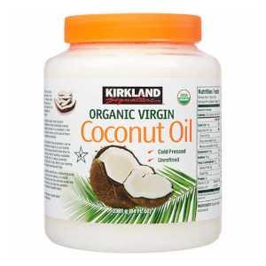 USDA Organic Kirkland Signature coconut oil 2.48L