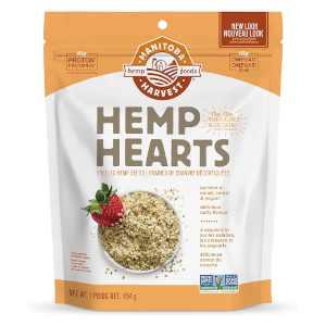 Manitoba Harvest Hemp Hearts Shelled Hemp Seeds 454g