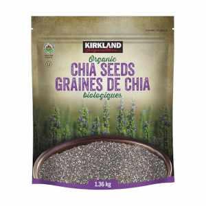 Kirkland Signature Organic Chia Seeds 1.36kg