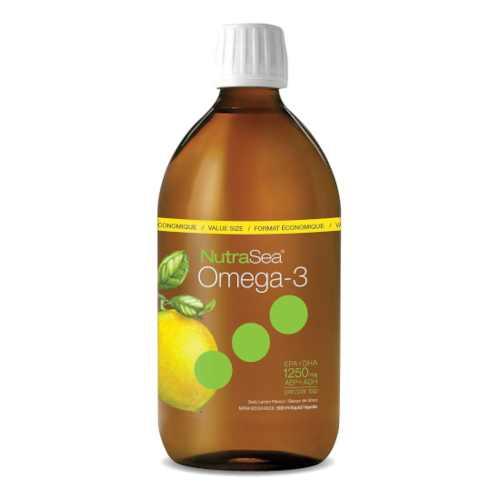 NutraSea Omega 3 Fish Oil Lemon 500mL