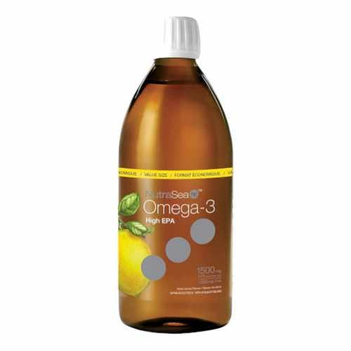 NutraSea hp Omega 3 Fish Oil Lemon 500mL
