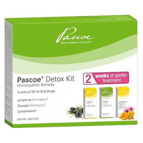 Pascoe Detox Kit 3 x 20 mL Oral Drops