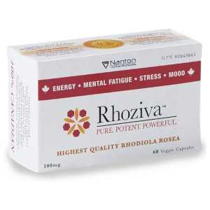Rhoziva Rhodiola Rosea Supplement 100mg 60caps